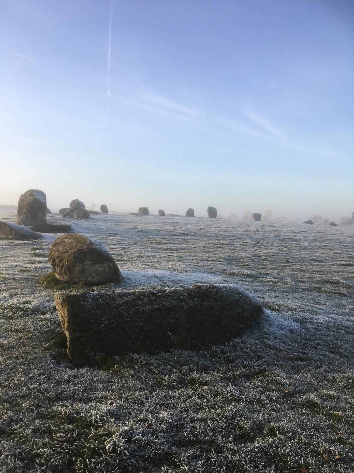 Long Meg and her Daughters - Little Salkeld near Penrith